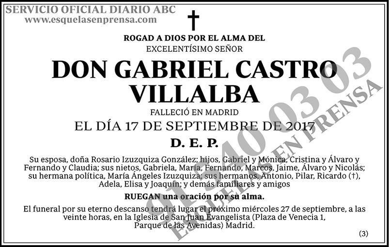 Gabriel Castro Villalba